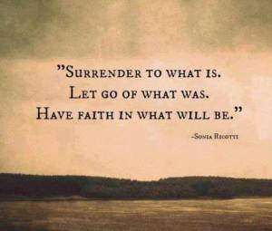 mindfullness surrender